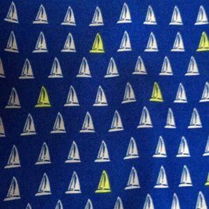 Silky sailing long sleeve blouse